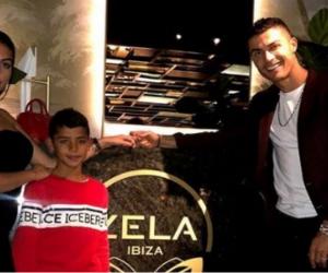 Cristiano Ronaldo junto a su pareja Georgina Rodríguez