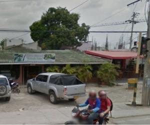 Restaurante en el que trabajaba el joven asesinado