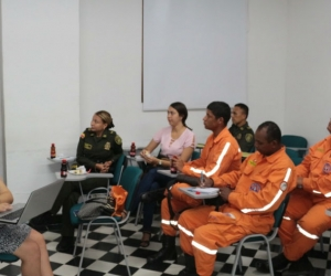 Diferentes autoridades participaron en la reunión en la que se acordó reactivar el Comité Intersectorial de Pólvora