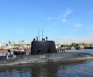 Submarino argentino ARA San Juan.