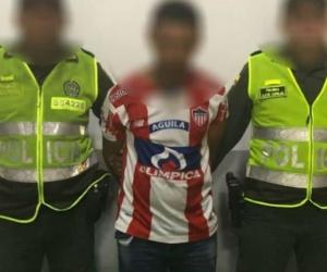 Este es alias 'el Menor', capturado en Barranquilla.
