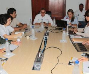 En esta última sesión del año fue socializado por parte del grupo de análisis en ciencias económicas de la Universidad del Magdalena, el convenio interinstitucional para  la caracterización del fenómeno de  trata de personas.