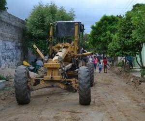 En esta oportunidad fueron beneficiadas calles y carreras de la cabecera municipal.