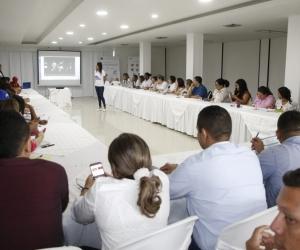 Durante la asistencia técnica se profundizó en temas como la prestación de servicios de salud a los usuarios individuales y colectivos.