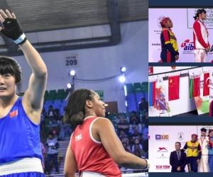 Jéssica Caicedo, de 24 años, perdió la final y se hizo acreedora de la plata.