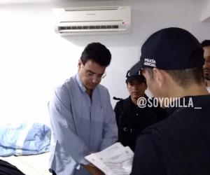 Ramsés Vargas fue capturado en un hotel en Cartagena.