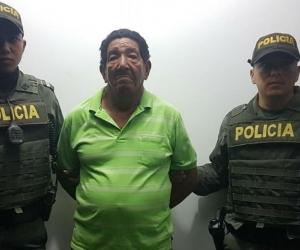 Jaime Montaño Pineda de 74 años de edad.