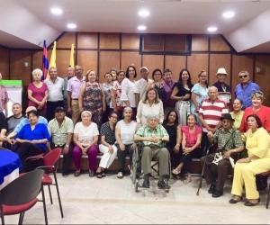 Diferentes actividades se desarrollaron en el encuentro que contó con una participación masiva de antiguos trabajadores de la Unimagdalena.
