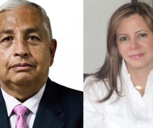 El exsecretario general del SENA, Milton Núñez Paz, y a la expresidenta de Servicios Postales Nacionales S.A. - 472, Adriana Barragán López.