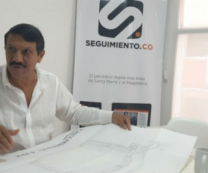 Beto Riascos, promotor del proyecto de la remodelación del Eduardo Santos.