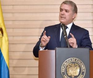 El Presidente de la República, Iván Duque.