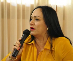 Claudia Patricia Aarón, diputada del Magdalena.