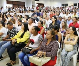 """El evento, que fue realizado en el auditorio """"Rodrigo Noguera Laborde"""" de la Universidad Sergio Arboleda de Santa Marta."""