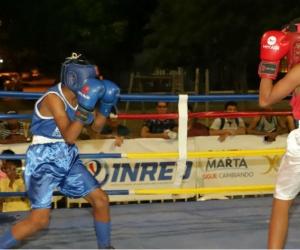 Con el apoyo logístico del Instituto Distrital de Recreación y Deportes –Inred- y la programación de la Liga de Boxeo del Magdalena, 32 pugilistas de Plato, Valledupar y Santa Marta, propinaron el primer nocaut a la droga.