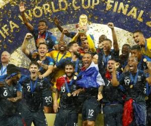 Francia, campeón del Mundial de Rusia 2018.