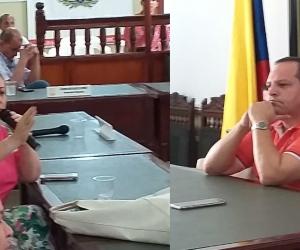 Claudia Patricia Aarón y Alex Velásquez.
