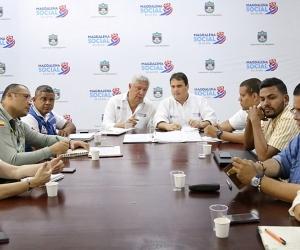 El comité fue liderado por la administración departamental a través de la Oficina de Turismo, con la participación de diferentes dependencias.