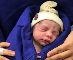Primer bebé gracias al trasplante de útero de una donante fallecida.