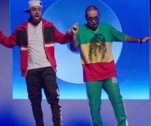 Captura de video ´X´ Jbalvin y Nicky Jam
