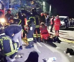 Varios de los heridos y fallecidos son menores de edad.