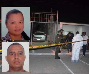 Los fallecidos son Soraya Baquero y Joaquín de Jesús Gutíérrez.