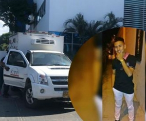 Sergio Daniel Villalba Mejía murió de una apuñalada en el pecho.