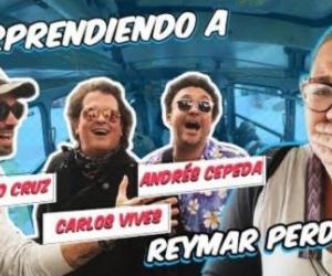 Carlos  Vives, Andrés Cepeda y Santiago Cruz.