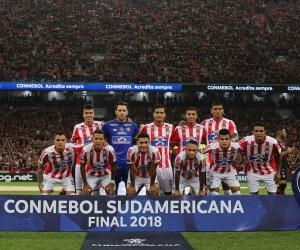 El equipo barranquillero perdió su primera final internacional.
