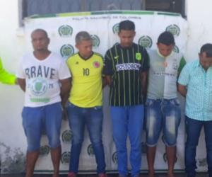 Banda criminal 'Los Sacras'.