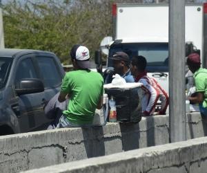 Se estima que 5.500 venezolanos salen de su país cada día.