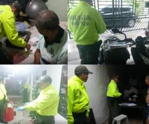 Capturas en Colombia de la red.