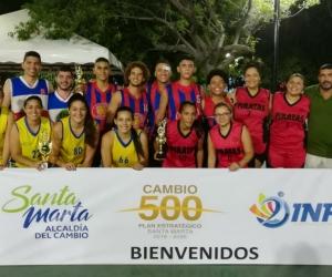 Campeones de baloncesto 3x3.