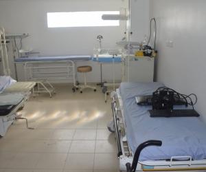 En el quirofano de la Castellana se observaron algunas de las irregularidades de al administración de la ESE.