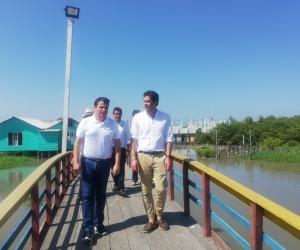 El viceministro de Agua y Saneamiento Básico, José Acero.