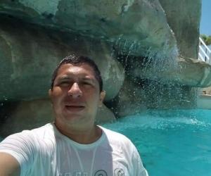 Einer Orozco De La Cruz, vigilante fallecido.