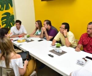 Encuentro del Viceministro de Agua con el Gobierno del Magdalena y Ciénaga.
