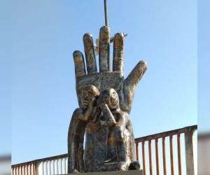 Monumento 'La Esperanza' en Guamal, Magdalena