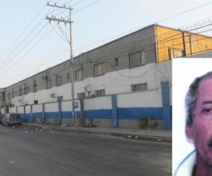 Manuel Salvador Martínez Leal fue asegurado en la cárcel Modelo de Barranquilla.