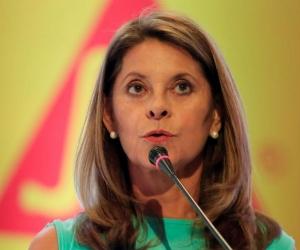 La vicepresidenta, Marta Lucía Ramírez.