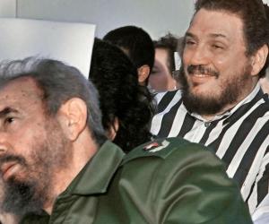 Fidel Castro Díaz-Balart, hijo de Fidel Castro.
