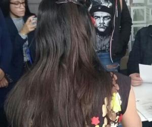 En la sede de la Jurisdicción Especial para la Paz (JEP), en Bogotá, el exjefe guerrillero y candidato presidencial del partido Farc, se comprometió a contar la verdad de los sucedido a las víctimas.