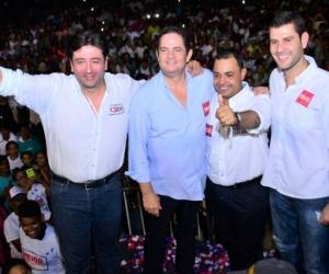 Fabián Castillo y Germán Vargas Lleras.