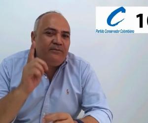 Jorge Luis 'el Negro' López, candidato a la Cámara de Representantes por el Magdalena.