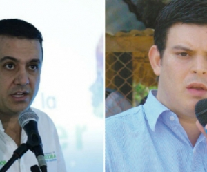 Edwin Besaile y Alejandro Lyons Muskus.