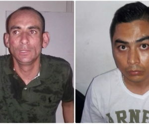 Presuntos ladrones capturados en Mamatoco.