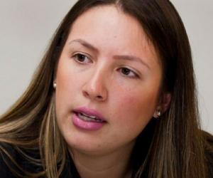 Sandra Piedrahíta Lyons, prima del exgobernador Alejandro Lyons.