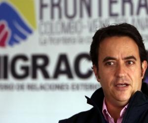 El director de Migración Colombia, Christian Krüger.