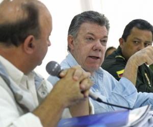Juan Manuel Santos en Arauca.