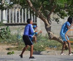 Con machete en mano los jóvenes se enfrentaron en Manzanares.