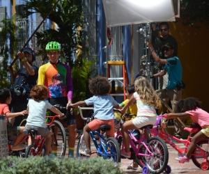 Rigoberto se encuentra en Santa Marta grabando un comercial.